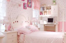 合抱木装修学堂-韩式田园风格卧室,哪个女孩不心动?