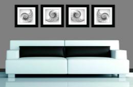 合抱木装修学堂-装饰画悬挂技巧详解,让大白墙不再单调