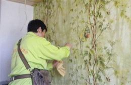 合抱木装修学堂-家居墙纸保养小贴士,防尘防霉不翘起!