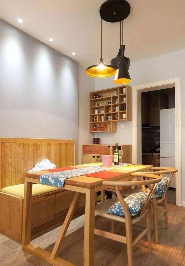 合抱木装修学堂-【装修设计】如何装修设计好小面积的餐厅