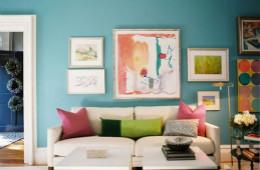 合抱木装修学堂-客厅装修色彩搭配技巧,想怎么搭就怎么搭