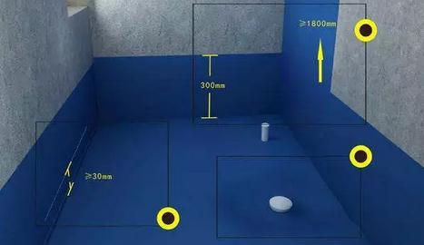 合抱木装修学堂-毛坯房装修时,卫浴间装修防水工程怎么做