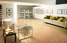 合抱木装修学堂-客厅地板砖色彩如何搭配,四招让客厅颜值大增