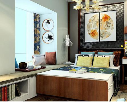合抱木家居资讯-卧室飘窗怎样设计?飘窗设计的好卧室瞬间大一倍